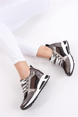 Fox Shoes Platin Kadın Sneakers D367011114